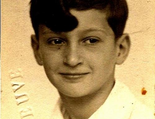 témoignage de Gilbert Weil, déporté à Auschwitz en 1944