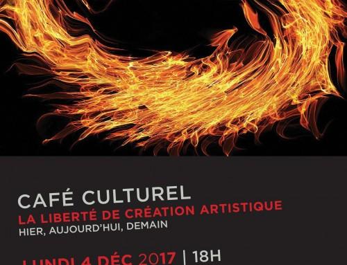En résonance café culturel sur la liberté de créer hier, aujourd'hui, demain