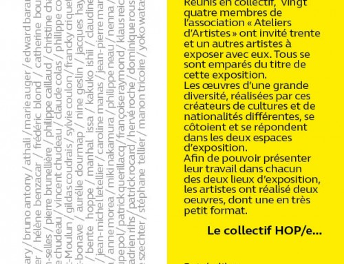 exposition collective Hop/e! Angers