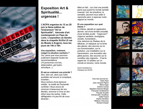 biennale Angers juin 2020